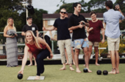BAREFOOT BOWLS is now available at Cardiff Bowling Cluband it's FREE!For further information, contact the officeon (02) 4954 7244